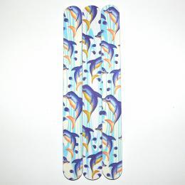 Pilník na nehty 240/240 delfín | Leštičky, leštící bloky a pilníky na nehty pro nehtovou modeláž a manikúru - Pilníky na nehty pro nehtovou modeláž a manikúru - rovné