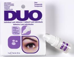 Čiré lepidlo pro aplikaci trsů řas Ardell DUO Clear 7 g | Umělé řasy a trsy - Řasy trsové Ardell