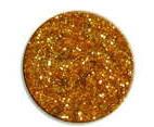 UV gel barevný glitrový Gold Glitter 5 ml | Barevné UV gely - Glitrové barevné UV gely