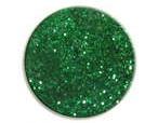 UV gel barevný glitrový Green Glitter 5 ml | Barevné UV gely - Glitrové barevné UV gely