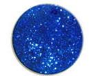 UV gel barevný glitrový Blue Glitter 5 ml | GLm94