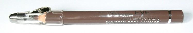 Princessa EYE SHADOW PENCIL tužka stínovací voděodolná s ořezávátkem světle hnědá | NEHTOVÁ MODELÁŽ - Dekorativní kosmetika - Tužky stínovací