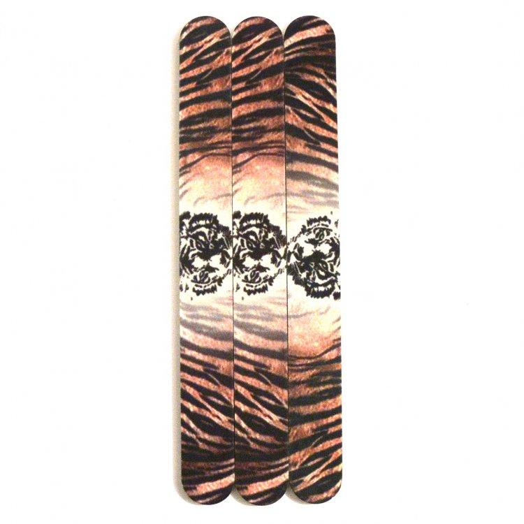 Pilník na nehty 240/240 tiger | Leštičky, leštící bloky a pilníky na nehty pro nehtovou modeláž a manikúru - Pilníky na nehty pro nehtovou modeláž a manikúru - rovné