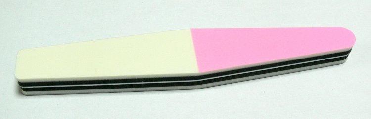 Leštička na nehty třístranná 3WS                         | NEHTOVÁ MODELÁŽ - Leštičky, leštící bloky a pilníky na nehty pro nehtovou modeláž a manikúru - Leštičky a leštící bloky na nehty pro nehtovou modeláž a manikúru
