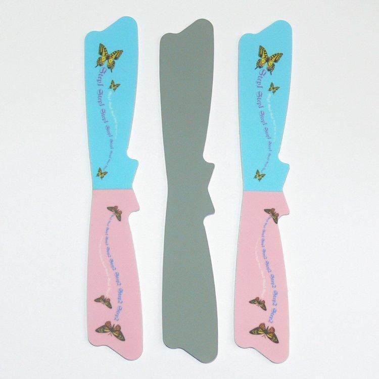 Leštička na nehty Butterfly   | NEHTOVÁ MODELÁŽ - Leštičky, leštící bloky a pilníky na nehty pro nehtovou modeláž a manikúru - Leštičky a leštící bloky na nehty pro nehtovou modeláž a manikúru