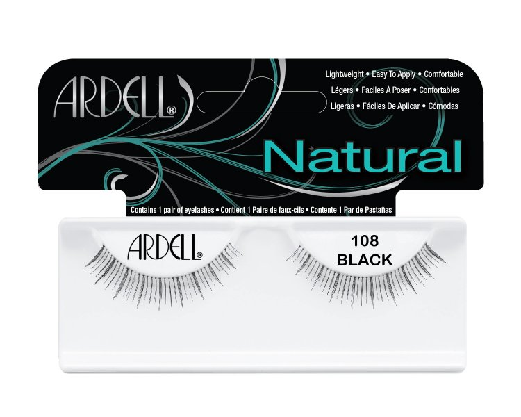 Nalepovací řasy Ardell Fashion Lashes 108 black | Umělé řasy a trsy - Nalepovací řasy Ardell