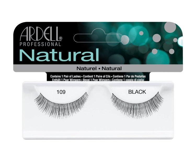 Nalepovací řasy Ardell Fashion Lashes 109 black | Umělé řasy a trsy - Nalepovací řasy Ardell