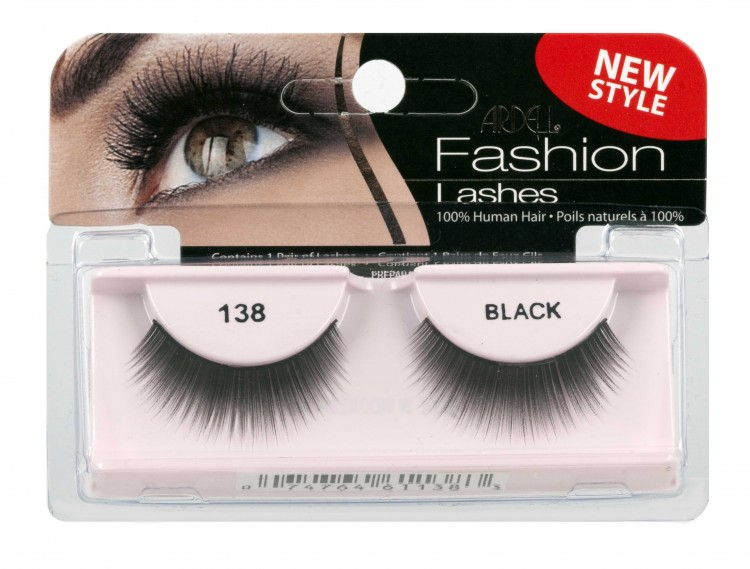 Nalepovací řasy Ardell Fashion Lashes 138 black | Umělé řasy a trsy - Nalepovací řasy Ardell