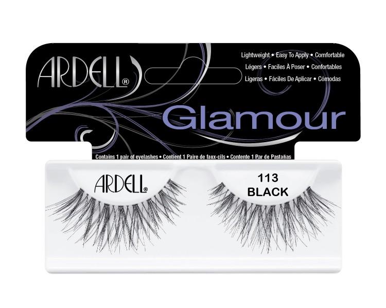 Nalepovací řasy Ardell Glamour Lashes 113 black | Umělé řasy a trsy - Nalepovací řasy Ardell