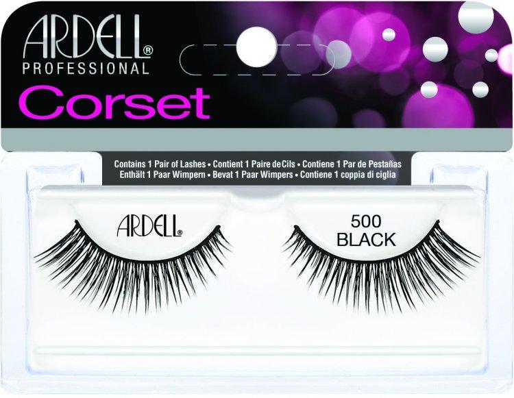 Nalepovací řasy Ardell Corset 500 black | NEHTOVÁ MODELÁŽ - Umělé řasy a trsy - Nalepovací řasy Ardell