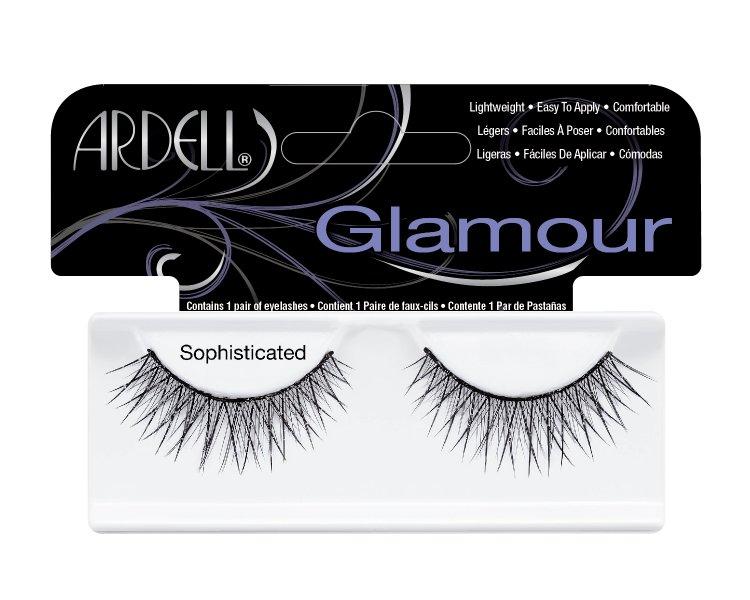 Nalepovací řasy Ardell Glamour Lashes Sophisticated black | Umělé řasy a trsy - Nalepovací řasy Ardell