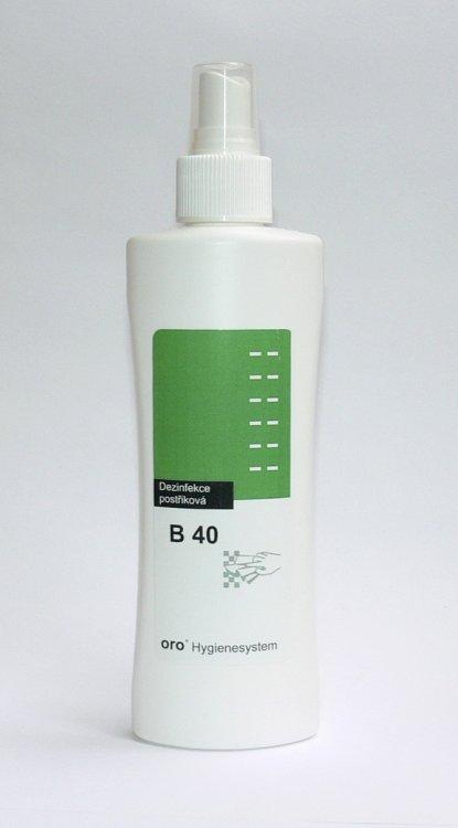 Dezinfekce postřiková na plochy a nástroje B40 ve spreji 200 ml | Dezinfekce a hygiena - Dezinfekce na nástroje a plochy