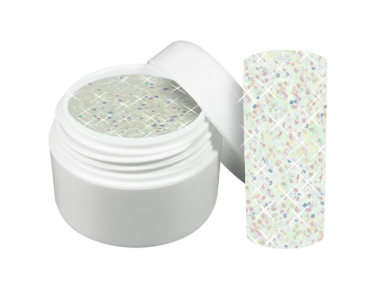 UV gel barevný třpytivý Mystery 5 ml | Barevné UV gely - Třpytivé barevné UV gely