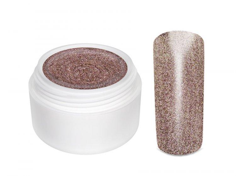 UV gel barevný Extrem Glimmer Cinnamon 5 ml | Barevné UV gely - Třpytivé barevné UV gely