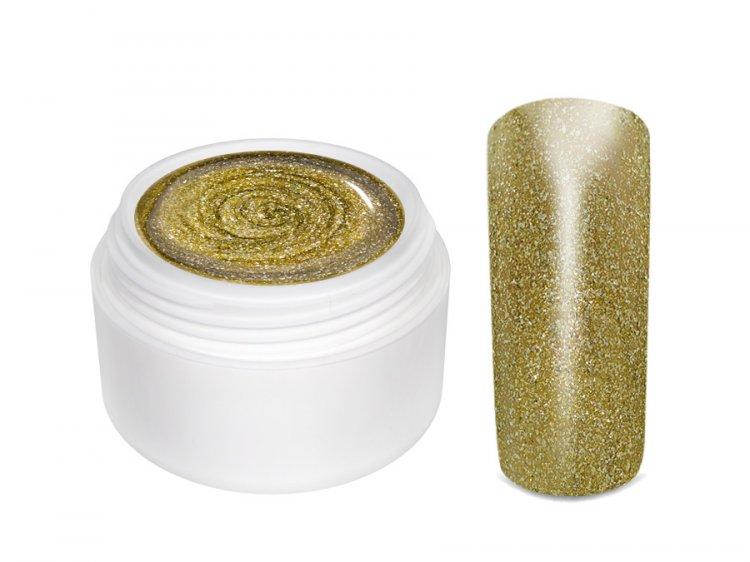 UV gel barevný Extrem Glimmer Copper Gold 5 ml | Barevné UV gely - Třpytivé barevné UV gely