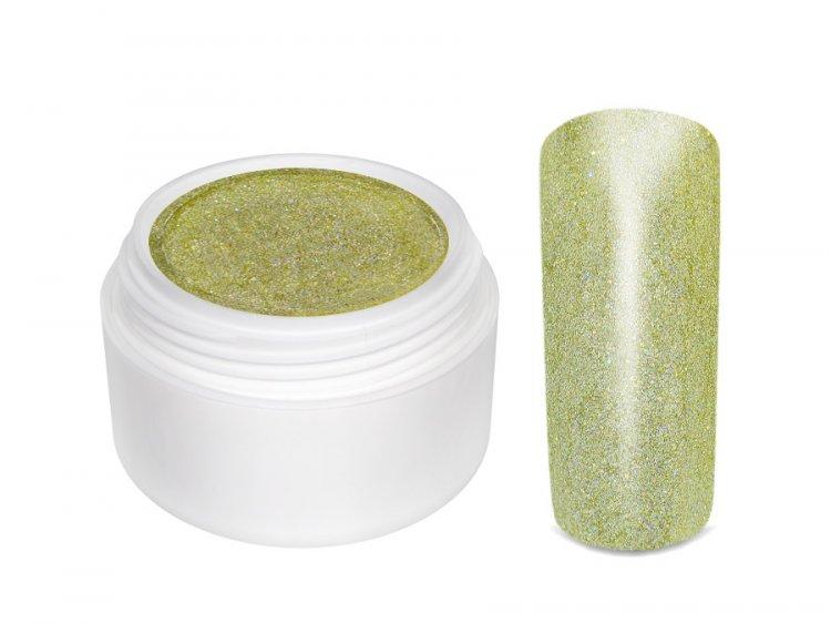 UV gel barevný Extrem Glimmer Light Gold 5 ml | NEHTOVÁ MODELÁŽ - Barevné UV gely - Třpytivé barevné UV gely