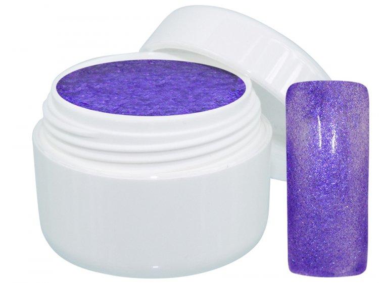 UV gel barevný Extrem Glimmer Purple 5 ml | NEHTOVÁ MODELÁŽ - Barevné UV gely - Třpytivé barevné UV gely
