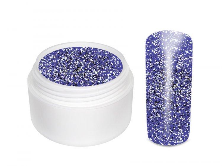 UV gel barevný Extrem Glitter Lila 5 ml | Barevné UV gely - Glitrové barevné UV gely