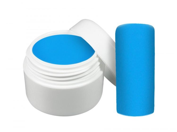 UV gel barevný neon modrý 5 ml | Barevné UV gely - Neonové a pastelové barevné UV gely