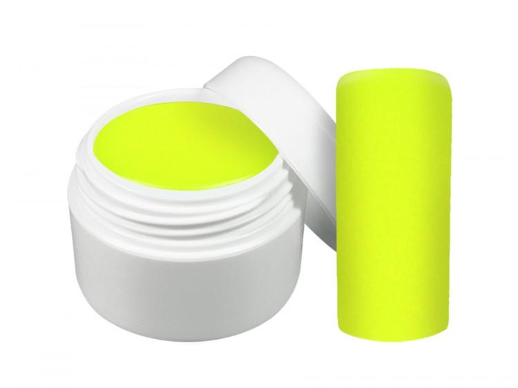 UV gel barevný neon žlutý 5 ml | NEHTOVÁ MODELÁŽ - Barevné UV gely - Neonové a pastelové barevné UV gely