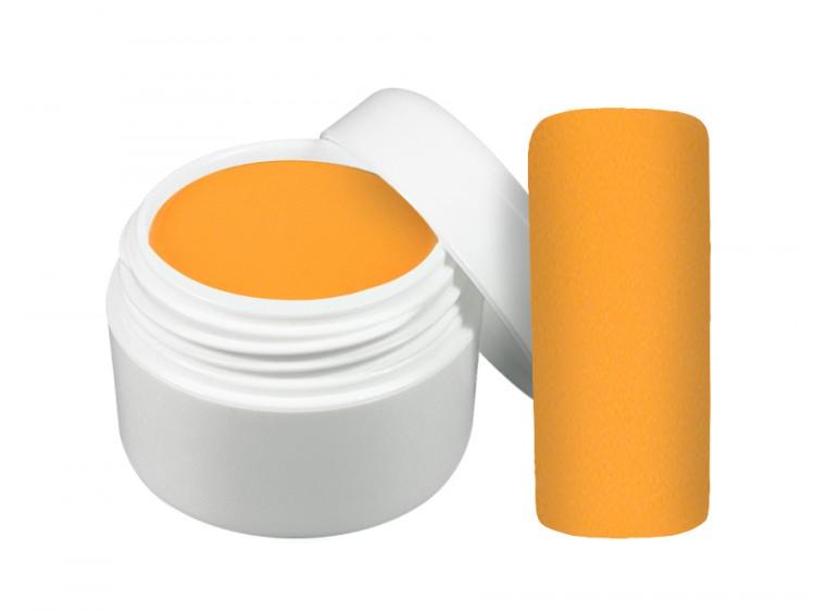 UV gel barevný neon oranžový 5 ml | Barevné UV gely - Neonové a pastelové barevné UV gely