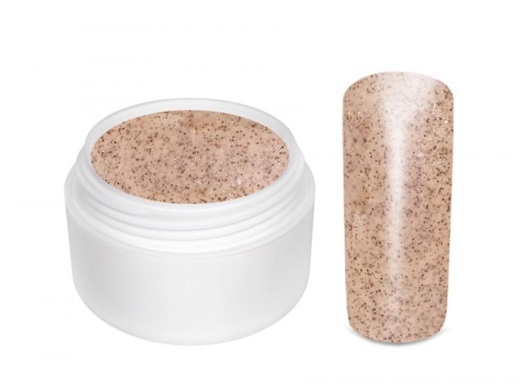 UV gel barevný glitrový Nude 5 ml | Barevné UV gely - Glitrové barevné UV gely