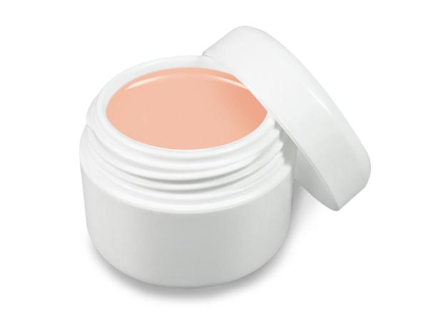 UV gel barevný pastelový broskvový 5 ml | Barevné UV gely - Neonové a pastelové barevné UV gely