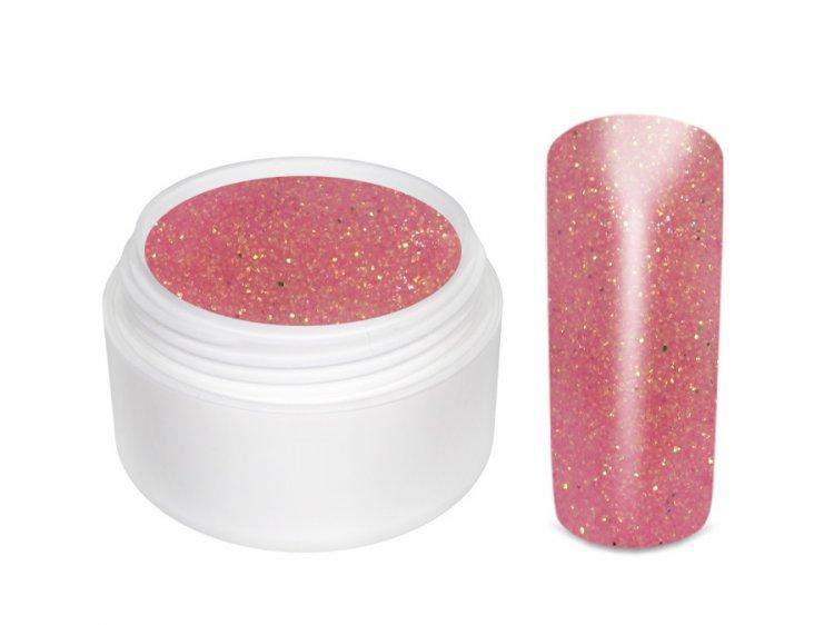 UV gel barevný glitrový Pink 5 ml | Barevné UV gely - Glitrové barevné UV gely