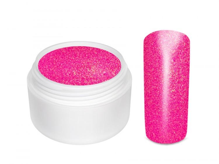 UV gel barevný glitrový Pink Star  5 ml | NEHTOVÁ MODELÁŽ - Barevné UV gely - Glitrové barevné UV gely