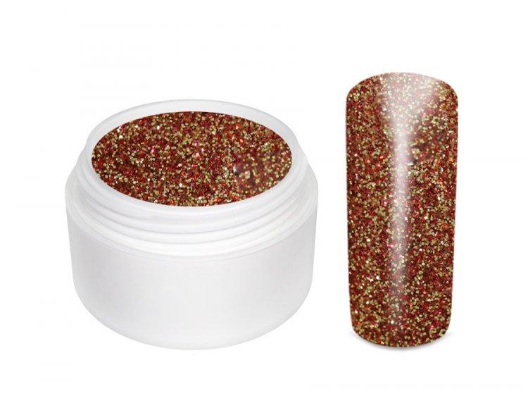 UV gel barevný glitrový Rotgold  5 ml | NEHTOVÁ MODELÁŽ - Barevné UV gely - Glitrové barevné UV gely