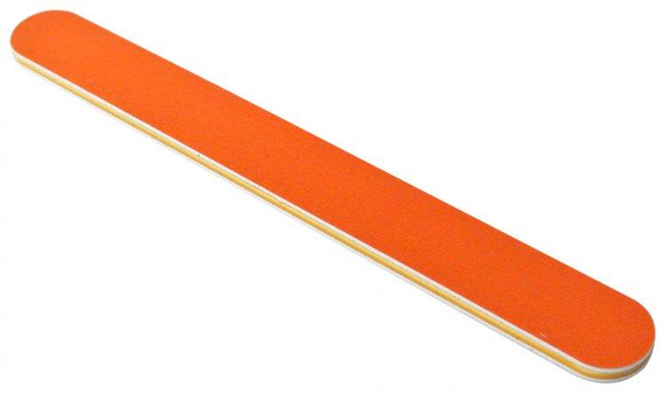 Pilník oranžový 240/240   NEHTOVÁ MODELÁŽ - Leštičky, leštící bloky a pilníky na nehty pro nehtovou modeláž a manikúru - Pilníky na nehty pro nehtovou modeláž a manikúru - rovné