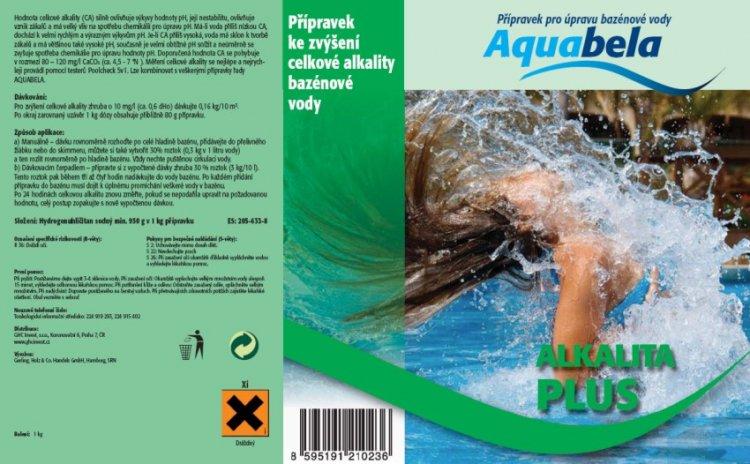 Bazénová chemie Aquabela alkalita plus 1000 g | Ostatní úprava bazénové vody