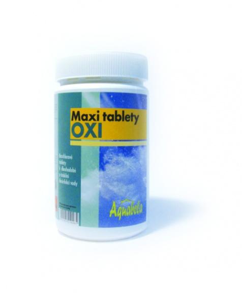 Bazénová chemie Aquabela maxi tablety oxi 1000 g | OXI bezchlorová řada pro úpravu bazénové vody