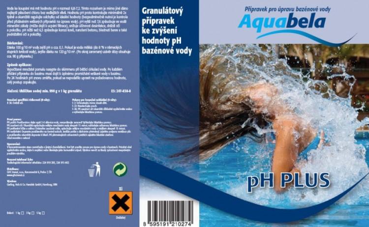 Bazénová chemie Aquabela pH plus 5000 g | Bazénová chemie - Úprava hodnoty pH - Produktová řada Aquabela