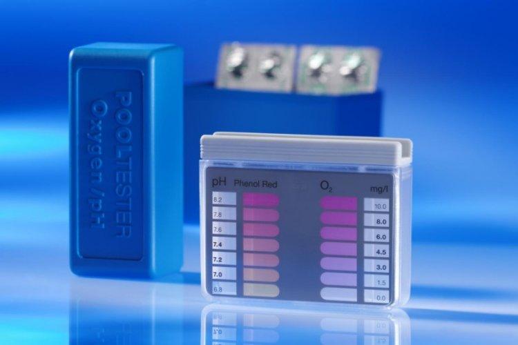 Bazénový pool tester O2/pH | Příslušenství pro měření kvality vody