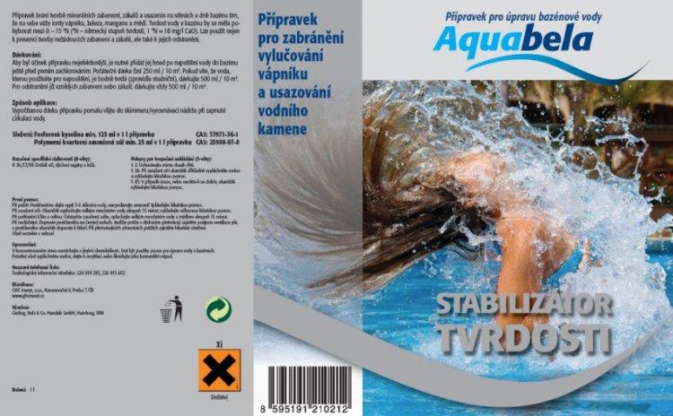 Bazénová chemie Aquabela stabilizátor tvrdosti 1000 ml | Bazénová chemie - Ostatní úprava bazénové vody