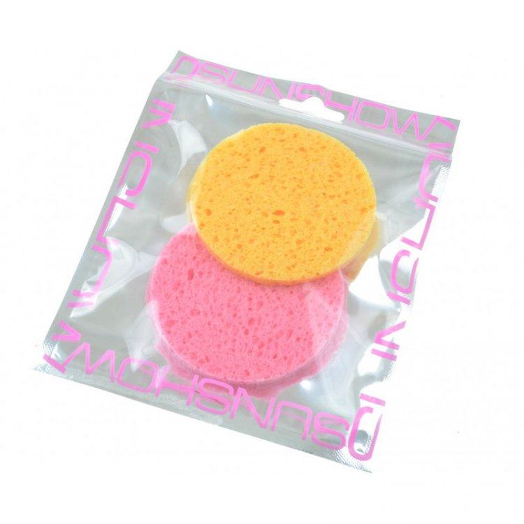 Houbička na makeup kulatá 2 ks    | NEHTOVÁ MODELÁŽ - Kosmetika WZ cosmetic - Kosmetické pomůcky