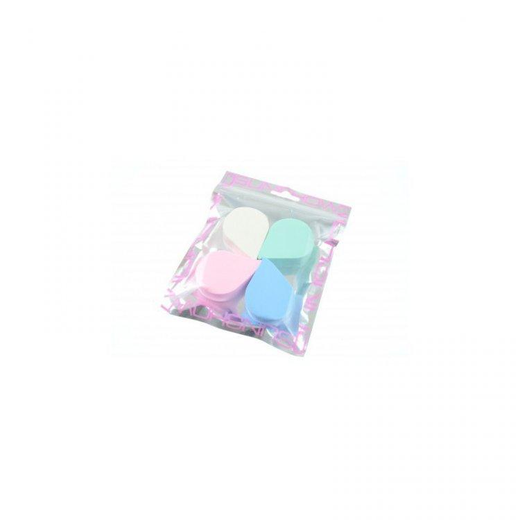 Houbička na makeup slza 4 ks    | NEHTOVÁ MODELÁŽ - Kosmetika WZ cosmetic - Kosmetické pomůcky