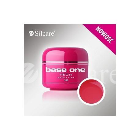Barevný gel neon Retro Pink 5 ml | BGN015