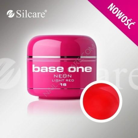 Barevný gel neon Light Red 5 ml | BGN016