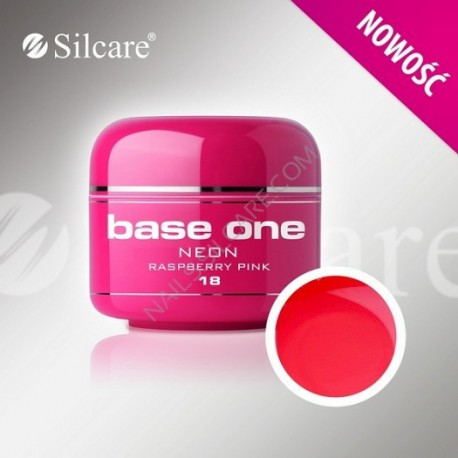 Barevný gel neon Raspberry Pink 5 ml | NEHTOVÁ MODELÁŽ - Barevné UV gely - Barevné UV gely - nové Neon