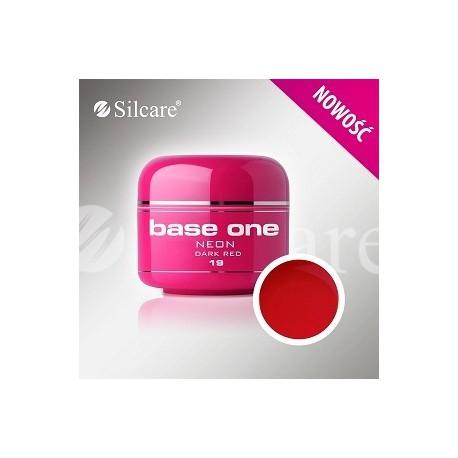 Barevný gel neon Dark Red 5 ml | BGN019