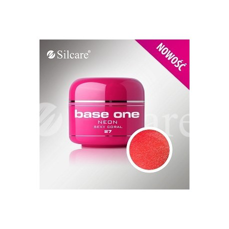 Barevný gel neon Sexy Coral 5 ml | BGN027