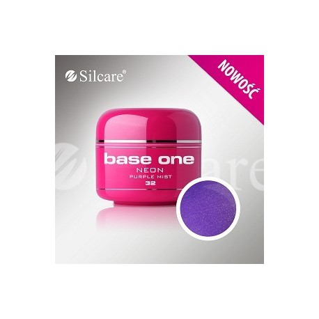 Barevný gel neon Purple Mist 5 ml | BGN032