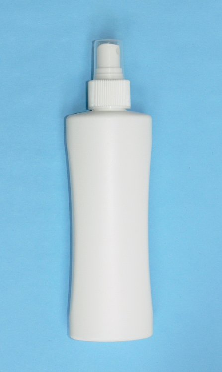 Lahvička Nova HDPE 200 ml bílá vč. rozprašovače | NEHTOVÁ MODELÁŽ - Obalový materiál