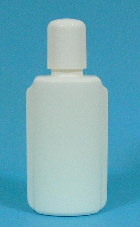 Lahvička HDPE 100 ml bílá vč. uzávěru s vložkou | NEHTOVÁ MODELÁŽ - Obalový materiál