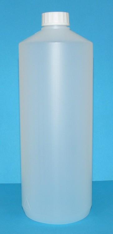 Láhev HDPE 1000 ml transparent vč. víčka | NEHTOVÁ MODELÁŽ - Obalový materiál