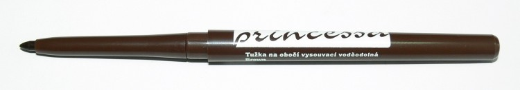Tužka na obočí vysouvací, voděodolná - hnědá | Dekorativní kosmetika - Tužky na obočí
