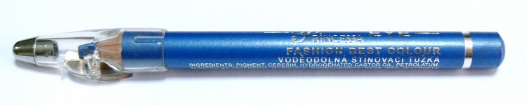 Princessa EYE SHADOW PENCIL tužka stínovací voděodolná s ořezávátkem ledově modrá | NEHTOVÁ MODELÁŽ - Dekorativní kosmetika - Tužky stínovací