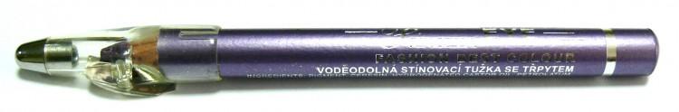 Princessa EYE SHADOW PENCIL tužka stínovací voděodolná s ořezávátkem šeříková s glitrem | Dekorativní kosmetika - Tužky stínovací